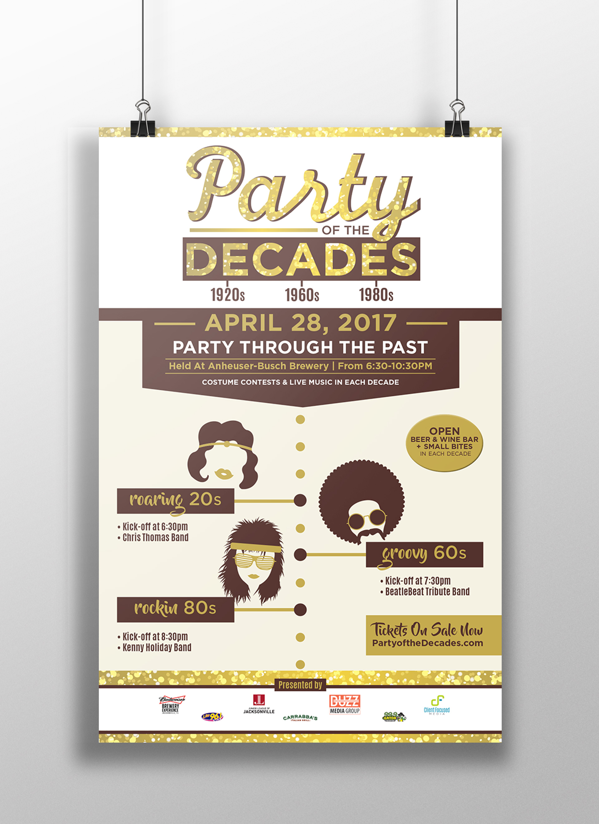 Party Of The Decades Poster