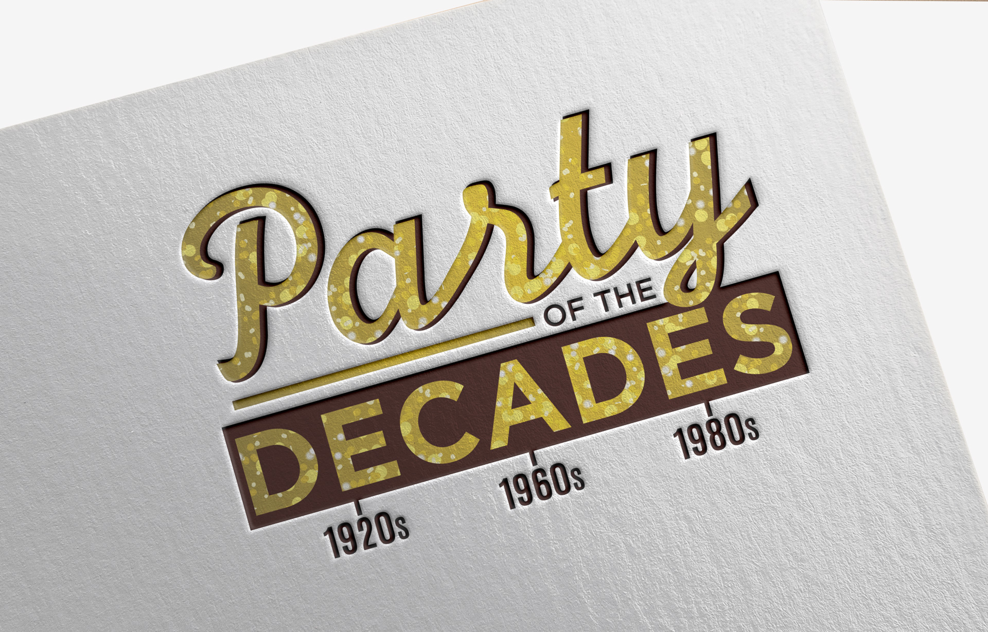 Party of the Decades Logo