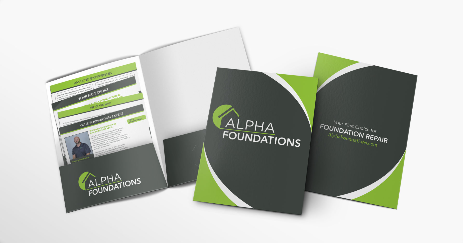Alpha Foundations Folder and Inserts